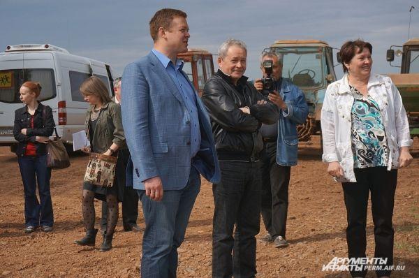 Бывший губернатор Виктор Басаргин и бывший министр сельского хозяйства Иван Огородов.