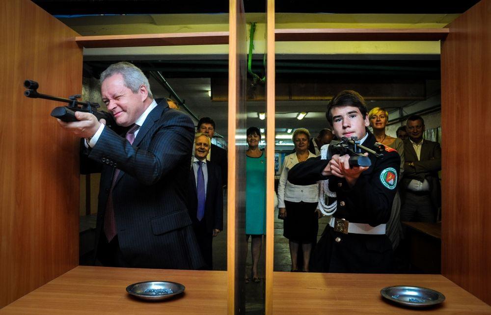 При Викторе Басаргине в Перми открылось суворовское училище.