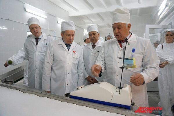 Басаргин на птицефабрике Пермская.