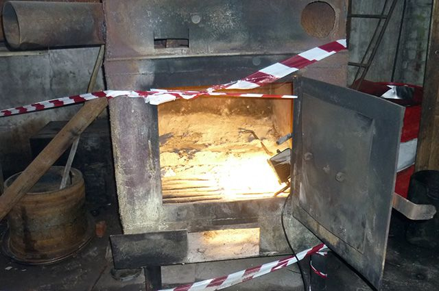 Смертельный газ образовался в печи