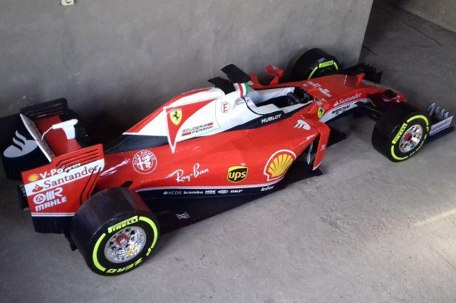 Даже в 33 года осталась мечта о Формуле-1.