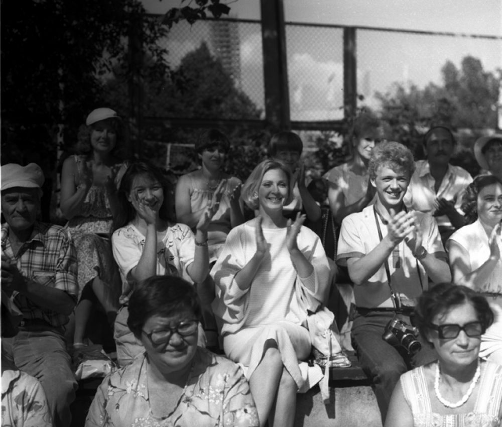 В фильме «Железное поле», 1986 год.