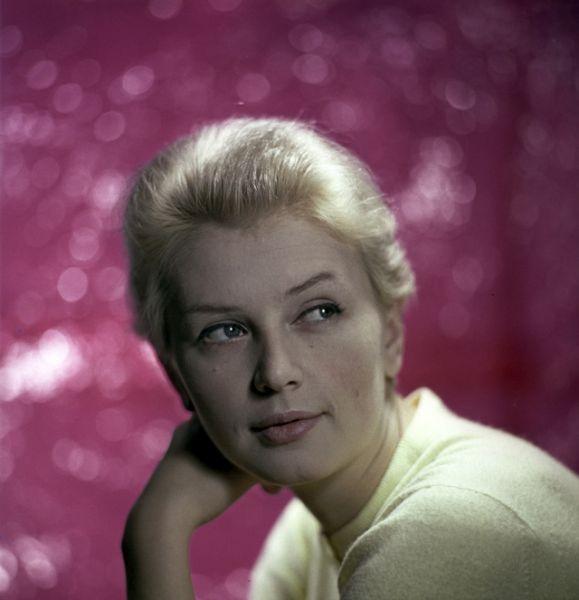 Актриса Валентина Антиповна Титова, 1967 год.