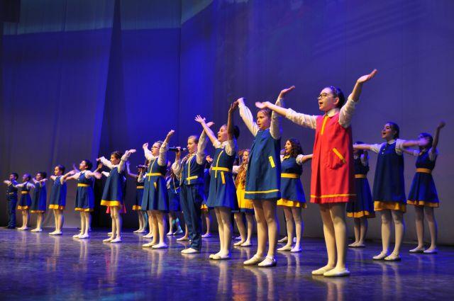В Омске успешно работает множество детских коллективов.