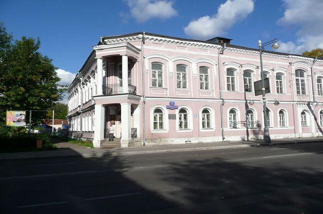 Тверской объединённый музей, расположенный в здании бывшего реального училища.