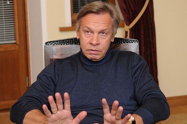 Сенатор Алексей Пушков прокомментировал выражение Ярослава Качиньского