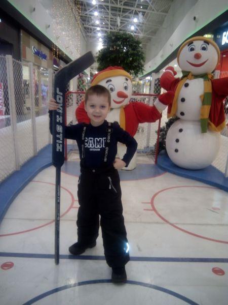 Сергей, 5 лет.
