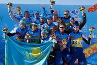 Сборная России выиграла золотые медали.