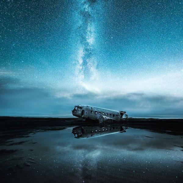 В мире можно увидеть многое, но такие ночные пейзажи вряд ли