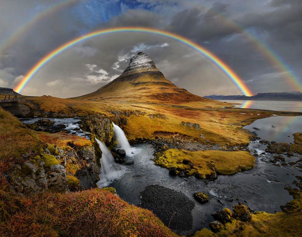 Исландия - страна, где вот такие пейзажи встречаются очень часто