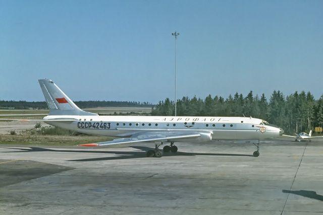 После крушения самолета, на борту которого было руководство ТОФа, все Ту-104 были выведены из состава ВВС.