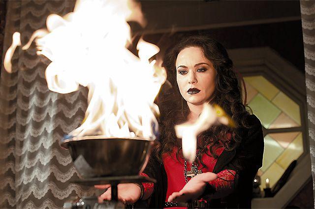 Мария Берсенева в сериале «Майор и магия».