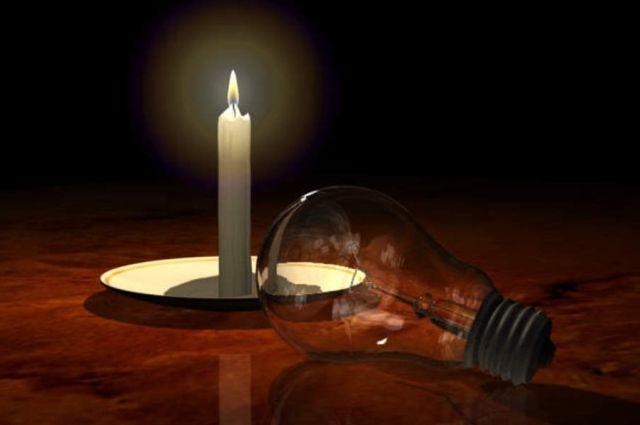 Украинцев предупреждают об отключениях электроэнергии в связи с ухудшение ситуации на территории Донбасса