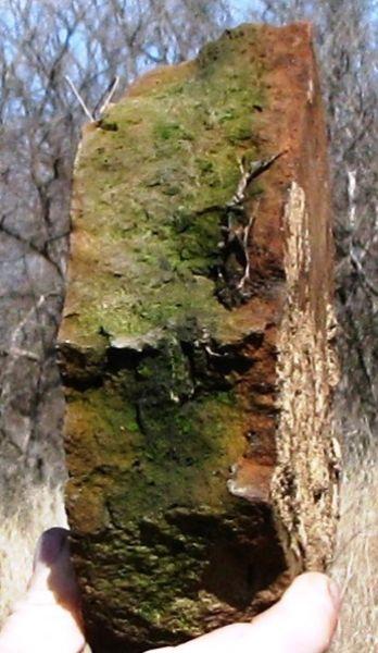 Вот это, возможно, часть каменной кладки многовековой давности.