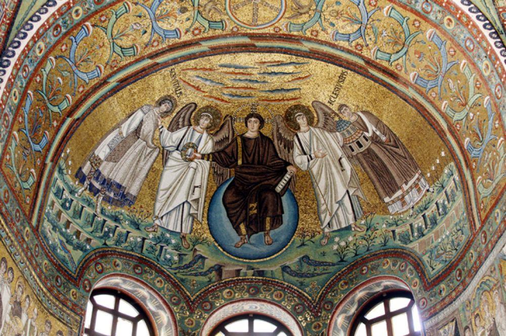 Мозаики базилики Сан-Витале.