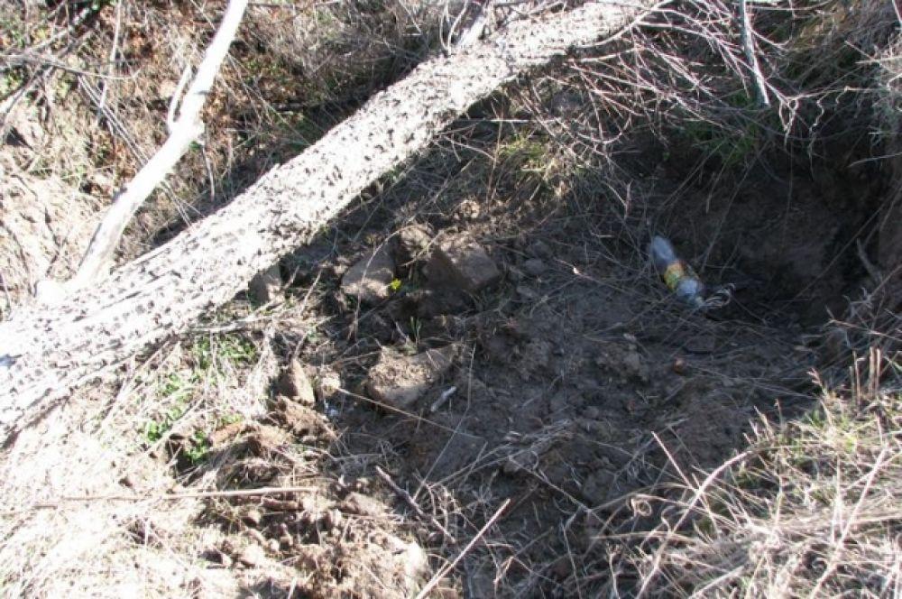Для случайного путника и животных такие ямы становтся опасными ловушками.