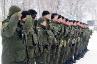В Олевск Житомирской области направили военнослужащих Нацгвардии