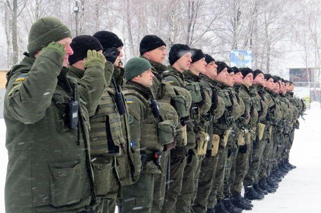 ВОлевске полицию усилили солдатами Нацгвардии— Янтарное обострение
