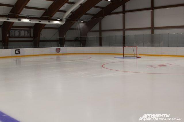 Новая ледовая арена улучшит условия для занятия спортом