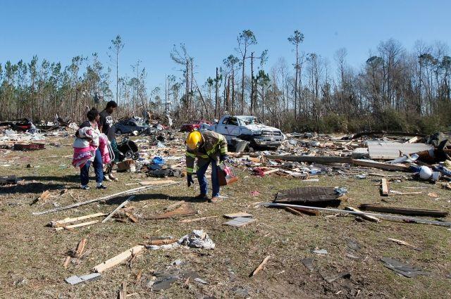 Как минимум 30 человек пострадали в итоге торнадо вНовом Орлеане