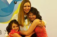 Татьяна всегда рада общению с подопечными фонда, она уверена: помощь детям придаёт жизни смысл.