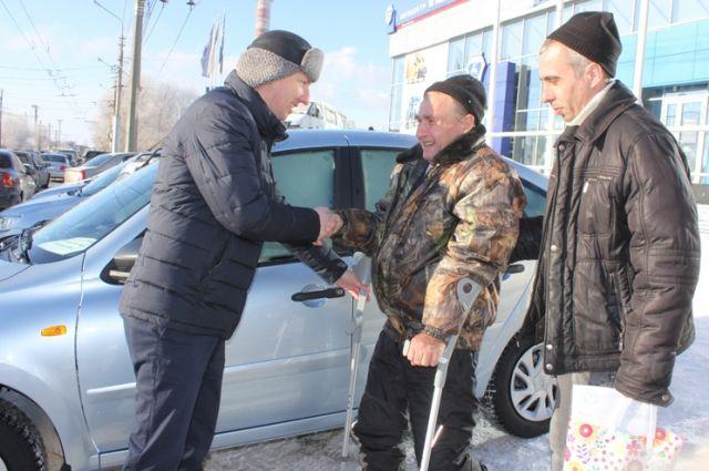 20 автомобилей было выдано региональным ФСС инвалидам.