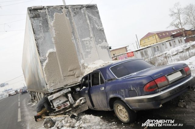 В рейтинге безопасности дорог РФ за 2016 г. Пермский край занял 50-е место из 52.