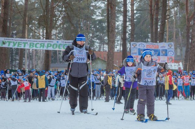 ВОмске из-за аномальных морозов отменили лыжню РФ