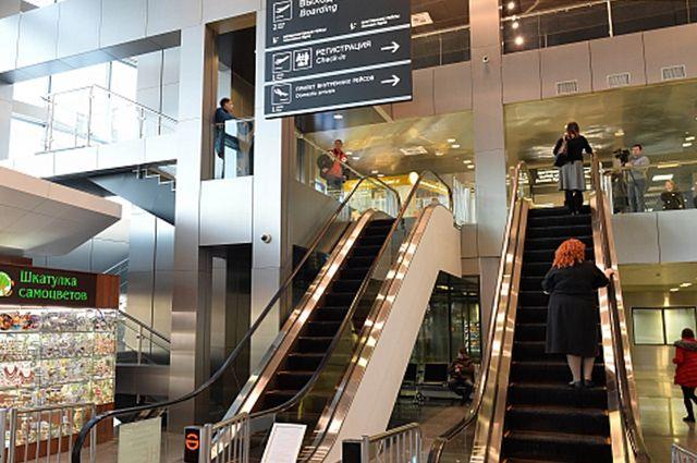 Ваэропорту Рощино вырос пассажиропоток