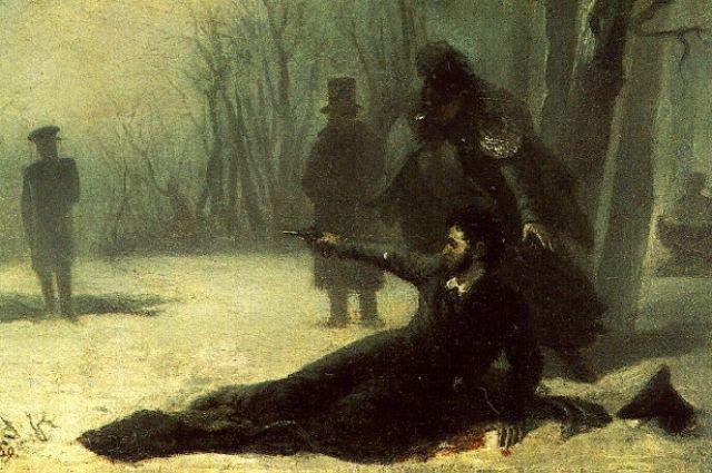 Пушкин двигался к пропасти совершенно сознательно.