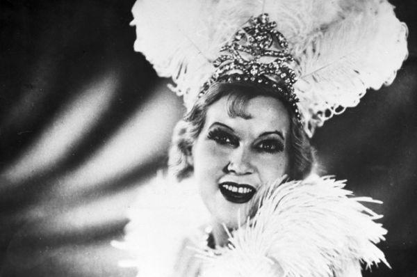 Любовь Орлова в роли Марион Диксон в фильме «Цирк», 1936 год.
