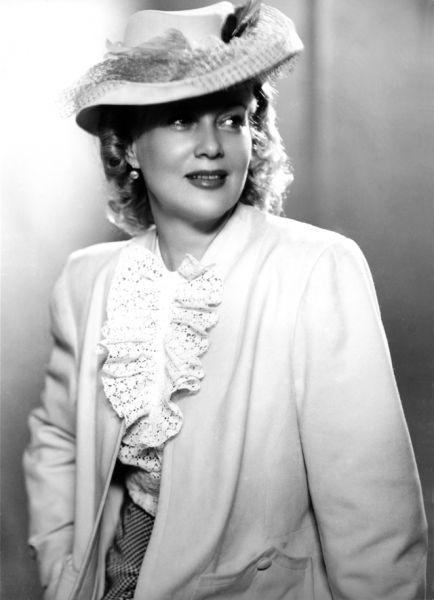 Любовь Петровна Орлова, 1950 год.