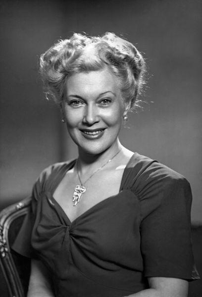 Народная артистка СССР Любовь Орлова, 1950 год.
