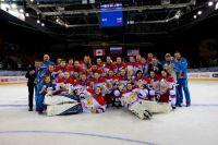 Наши девушки взяли золото в хоккее!