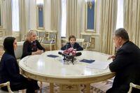 Президент Украины побеседовал с семьей журналиста Романа Сущенко