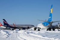 Самолеты в одесском аэропорту