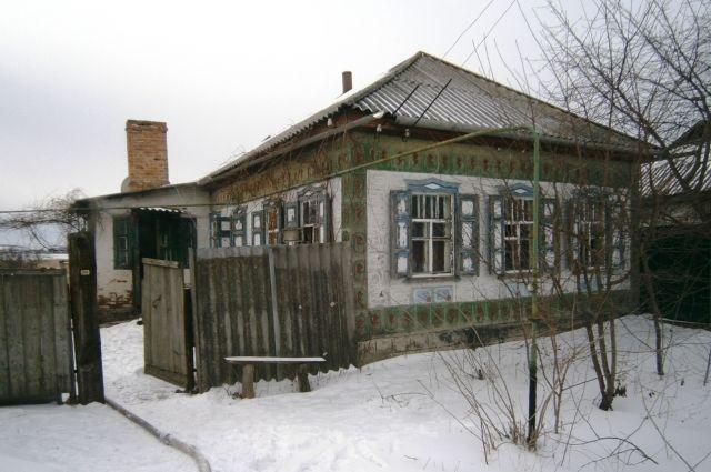 Дом, где произошел пожар