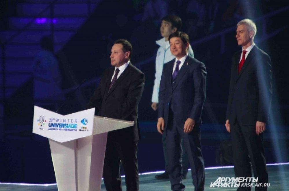 На заключительном мероприятии присутствовала делегация Красноярского края, в составе которой был глава города Эдхам Акбулатов.