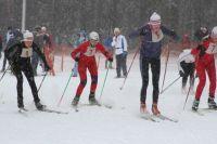 Лыжные соревнования проходят по всей стране