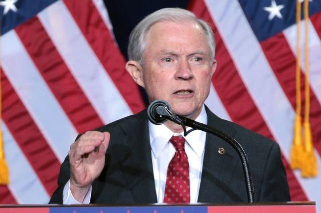 Генеральный прокурор США Джефф Сешнс. Досье