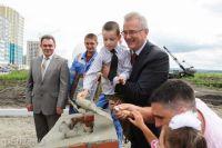 Программа создания новых ученических мест реализуется в соответствии с поручением Президента Российской Федерации.