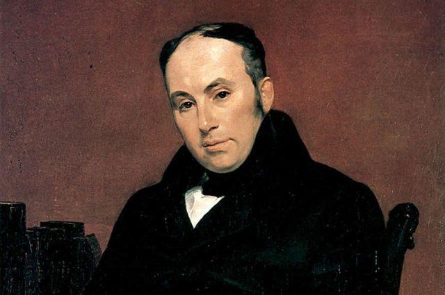 Портрет В. А. Жуковского кисти Карла Брюллова, 1838 г.