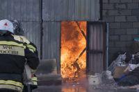 Пострадавших и погибших в пожаре нет
