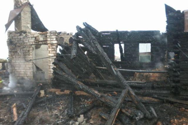Вселе Водорацк впожаре сгорел мужчина