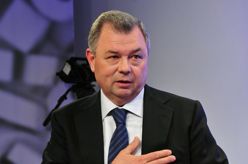 Губернатор Калужской области Анатолий Артамонов, в должности с 12 ноября 2000 года.