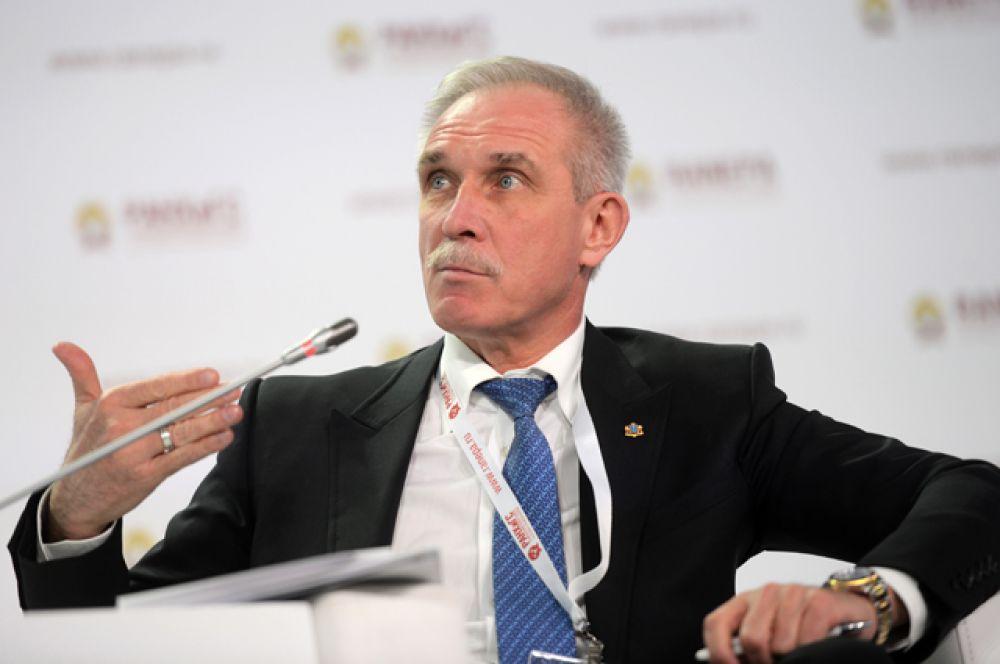 Губернатор Ульяновской области Сергей Морозов, в должности с 26 декабря 2004 года.