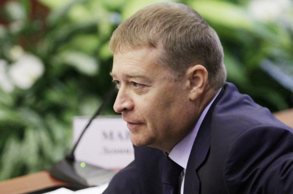 Глава Республики Марий Эл Леонид Маркелов, в должности с 14 января 2001 года.