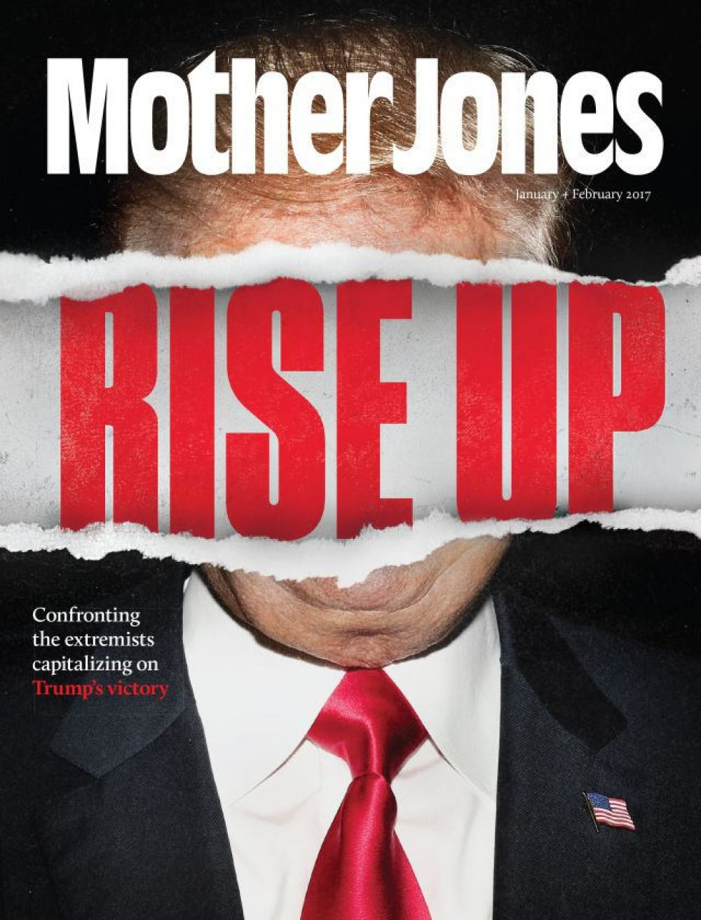 Журнал Mother Jones: «Поднимайтесь»