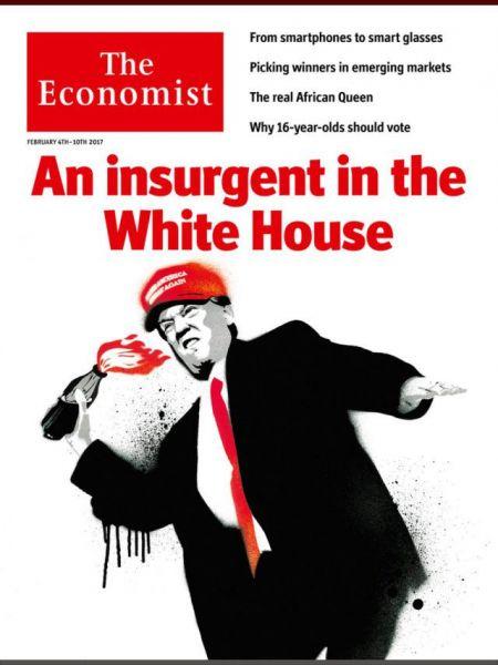 Журнал The Economist: «Подрывник в Белом доме»