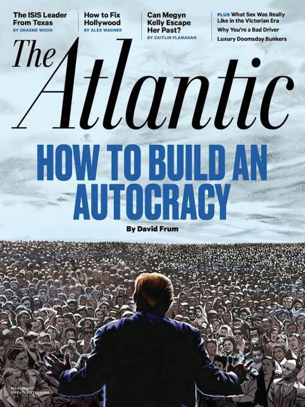Журнал The Atlantic: «Как построить автократию»